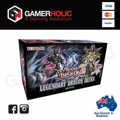 YugiOh TCG Legendary Dragon Decks Brand New