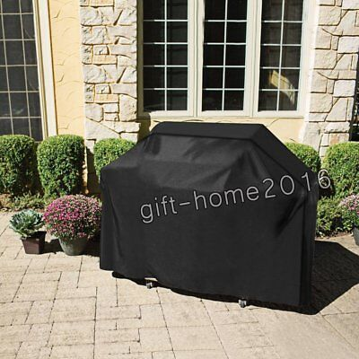 3 Size Burner Water Dust Resistant Cover Sunblock Yard Patio BBQ Grill Protector
