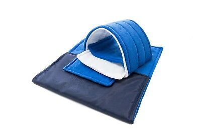 WATERPROOF Guinea Pig liner and small animal cage liner 80x44,royal blue set 9