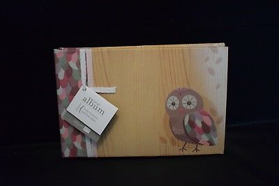 Photo Album Pepperpot  Holds 30 Photos, Acid Free pages - Hoot (Owl)