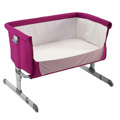 Next 2 Me Bedside Side Sleeping Crib Travel Height Adjustable Like Chicco