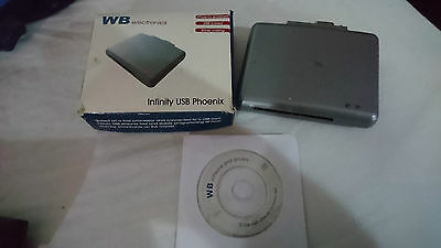infinity usb phoenix smartcard programmer PIC AVR used, tested & working RRP £42