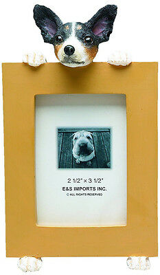 Rat Terrier Frame Dog Picture Photo Frame