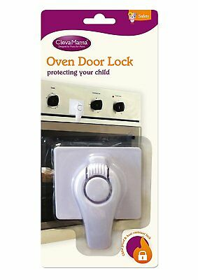 Clevamama Safety Oven Door Lock Guard Child Proof Kitchen Heat Resistant Baby UK