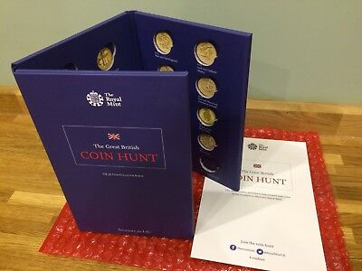 Royal Mint Coin Hunt £1 Collectors Edition Album 3 Page 2015 Version *Brand New*