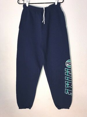Vintage Nike Sweatpants Sweats Size Boys XL (18-20) Or Adult Small Vtg 90s Blue