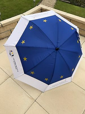 Gleneagles Ryder Cup 2014 Europe Golf Umbrella. Brand New