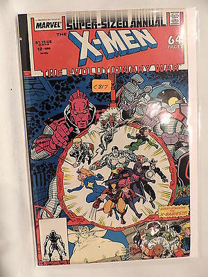 #12  X-Men Annual The Evolutionary War 1988  Marvel Comics C817