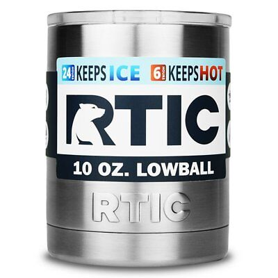 RTIC Stainless Steel Lowball with Lid 10oz
