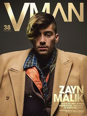VMAN Magazine Issue 38 Fall/Winter 2017 - Zayn Malik