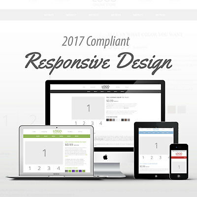 2017 Compliant Mobile Responsive Ebay Auction Listing Template Pick Your Color