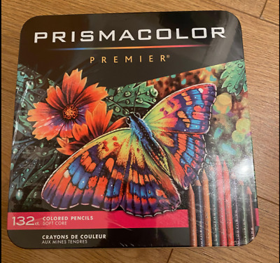 Prismacolor Premier Soft Core Colored Pencils 132 Colored Pencils Set
