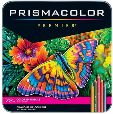 [PRISMACOLOR] Premier Soft Core Colored Pencils 72 Colored Pencils Set