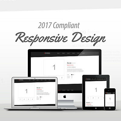 2017 Compliant Mobile Responsive Ebay Auction Listing Template Minimal Code