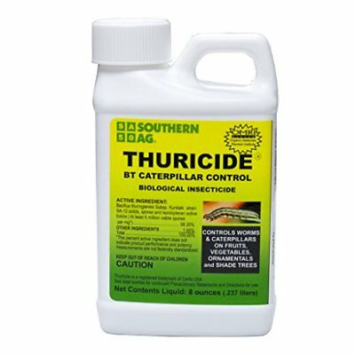 Southern Ag Thuricide HPC BT Caterpillar & Worm Control 16oz 1 Pint Other Weed