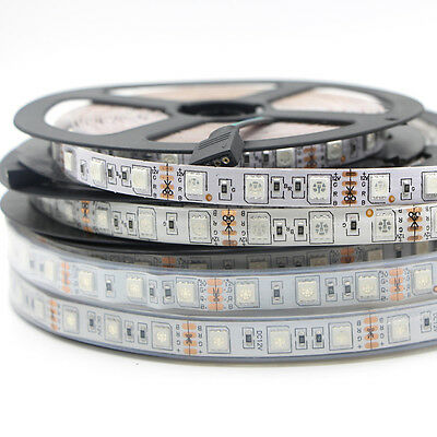 5m 5050 RGB Waterproof LED Strip Light Swimming Pool Underwater LED tape Lights