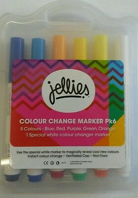 Color Change Markers - 6 pack