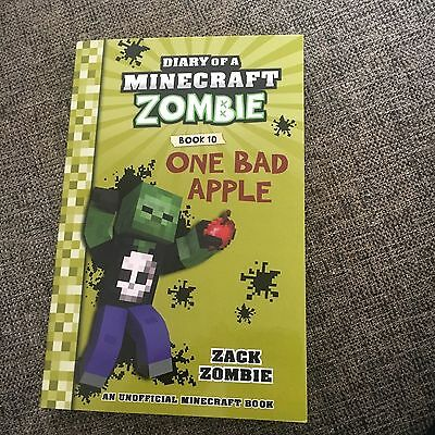 New, Diary Of A Minecraft Zombie, Book 10. One Bad Apple.