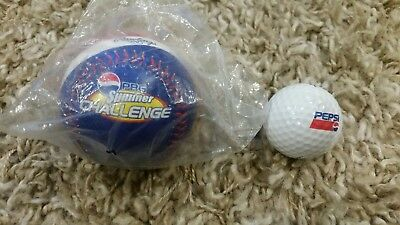 pepsi pbg baseball and golf ball