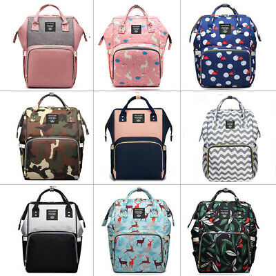 2017 Changing Baby Bag Multifunction Mummy Mother Diaper Nappy Backpack Newborn