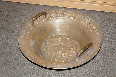 water spring bowl , Chinese fish pool / lucky pool / singing bowl golden 15in