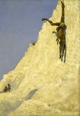 The Transgressor by Frederic Remington Giclee Repro Canvas