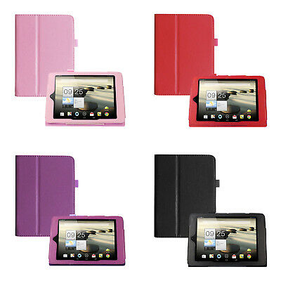 """Folding Folio Leather Case Cover Stand for Acer Iconia A1 A1-810 7.9"""" Table B1J5"""