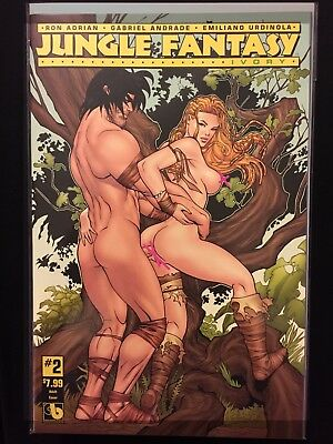Jungle Fantasy: Ivory #2 Adult Cover Variant ~ NEAR MINT NM ~ 2016 Boundless