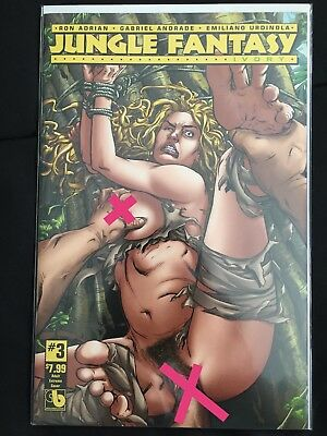Jungle Fantasy: Ivory #3 Adult Extreme Variant ~ NEAR MINT NM ~ 2016 Boundless