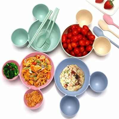 2017 New Kids Bowl Salad Plate Children's Plastic Tableware Dinnerware ZY