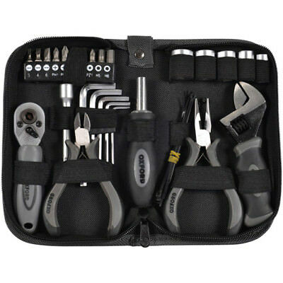 Oxford NEW Mx Essential Tools Underseat Motocross Motorcycle 27 pc PRO Tool Kit