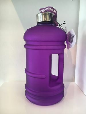 Official The BIG BOTTLE Company 2.2 Litre Daily Intake Water Bottle purple matte