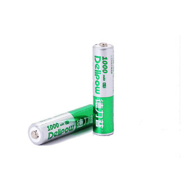 2x DLP AAA Rechargeable Battery AAA Batteries 1.2V 1000mAh Ni-MH