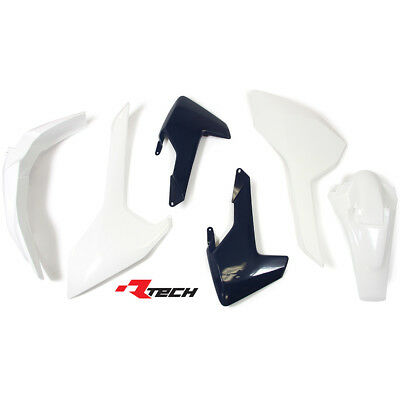Racetech NEW Mx Husqvarna FE TE TX 2017 RTECH OEM Dirt BIke Plastics Kit