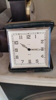 Smiths 8 day Travel Clock 1960's. Lovely condition.