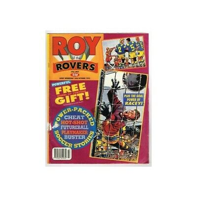 Roy of the Rovers Comic October 24  1992 MBox2791 The Goal Power of Racey!