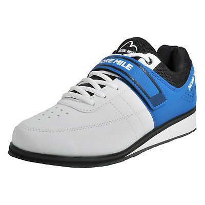 More Mile More Lift 4 Men's Weightlifting Cross Fit Shoes White