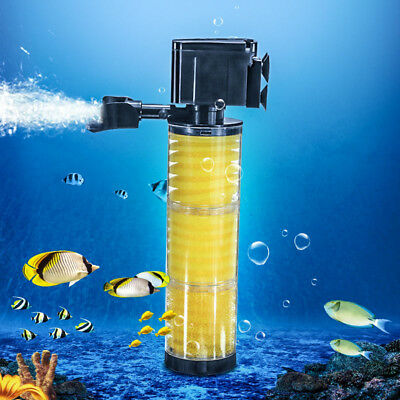 25W 1500L/H Submersible Internal Aquarium Filter Fish Tank Filtration Water Pump