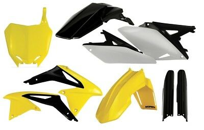 Acerbis Mx Suzuki RMZ250 2010-2017 OEM 13 Dirt Bike Full Motocross Plastics Kit