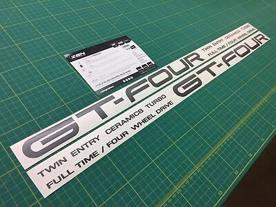 Toyota Celica GT-Four side decals 670mm stickers graphics GT 4 rally