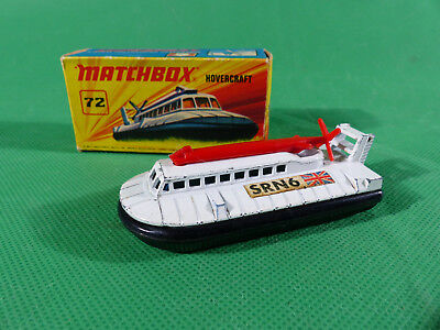 Matchbox LESNEY Nr.72 HOVERCRAFT 1972 in orig. Box, OVP