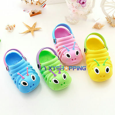 Kids Cute Soft Holiday Summer Clogs Casual Sandals Beach Shoes Rubber All Sizes