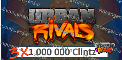 Urban Rivals 3.000.000 Clintz - discount offer