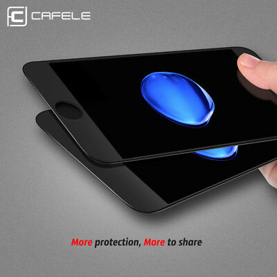 100% 2 Pcs Genuine Tempered Glass Film Screen Protector For Apple iPhone 7