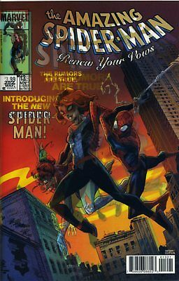 Amazing Spider-Man Renew Your Vows #13 Lenticular Var - Wackelcover - D047