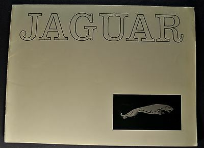 1961 Jaguar Lg 16pg Catalog Brochure XK-E 3.8 Sedan Mark X Excellent Original