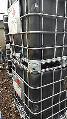 Black IBC's - 1000 Litre Tank - Can be delivered call for delivery cost.