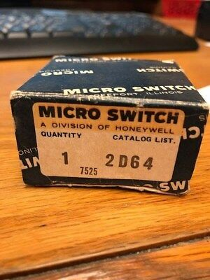 Honeywell Microswitch New in Box 2D64 FREE Shipping