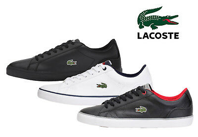 Lacoste Mens Shoes LEROND 317 US CAM Casual Leather Sneakers NEW