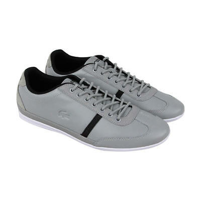 Lacoste Mens Shoes MISANO SPORT 317 US CAM Casual Leather Sneakers NEW
